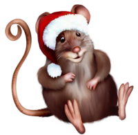 Mouse_with_Santa_Hat